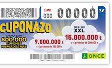 'Premiazo' de la ONCE en Granada: medio millón de euros entre la capital y Las Gabias