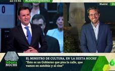 Iñaki López desvela su secreto con Màxim Huerta en pleno directo