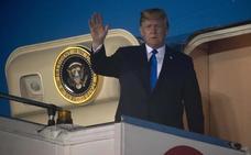 Trump llega a Singapur para su cumbre del martes con Kim Jong-un