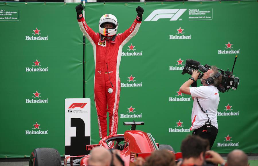 Las mejores imágenes del Gran Premio de Canadá