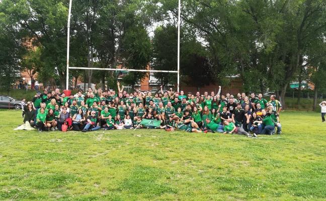 El Jaén Rugby gana en Madrid y ya es equipo de División de Honor B