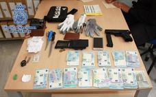 La Policía Nacional detiene a un individuo que forzaba establecimientos en la zona norte de Granada