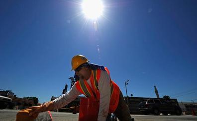 La temperatura extrema provoca accidentes laborales