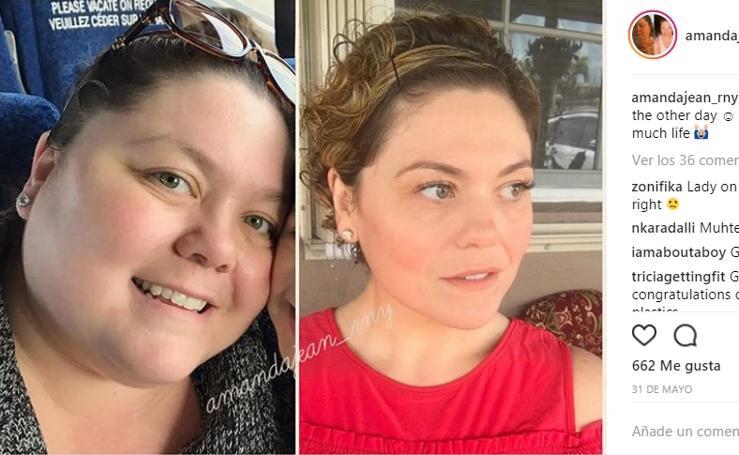 El increíble cambio de la madre que perdió 70 kilos