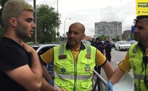 Toda España admira a Manu, el héroe que salvó la vida a un conductor que sufrió un infarto al volante