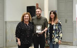 Juan Domingo Aguilar, ganador del Certamen Andaluz de Poesía de Peligros