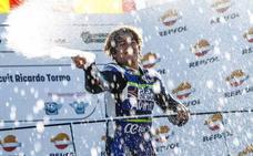 Fallece el piloto español Andreas Pérez a los 14 años, tras sufrir un grave accidente