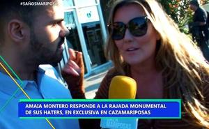Amaia Montero estalla contra las críticas que le acusan de actuar borracha en su concierto