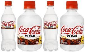Llega el tsunami de la Coca-Cola transparente: ¿Qué tiene de especial?