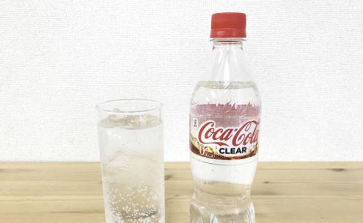 Así es la Coca-Cola transparente
