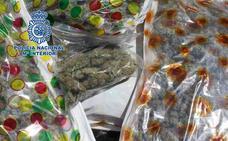 Arrestado cuando transportaba 27 kilos de cogollos de marihuana en su vehículo por la Zona Norte de Granada