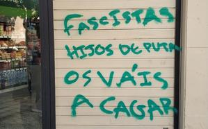 Pintadas amenazantes en San Juan de Dios ante las protestas por la inseguridad