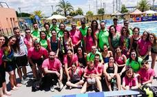 Victoria con récord de Andalucía para el club Máster Jaén de natación