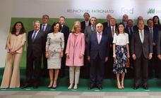 Así es la falda de flores preferida de la reina Letizia