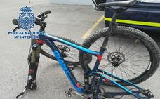 Recuperan en Granada unas bicicletas valoradas en más de 2.500 euros tras un robo con violencia