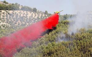 El plan Infoca incorpora drones a la lucha contra los incendios forestales