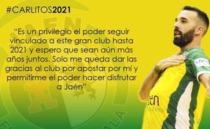 Carlitos amplía su contrato con el Jaén Paraíso Interior FS hasta 2021