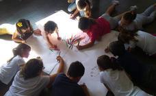 Los niños construyen su ciudad perfecta en Puerto Lope