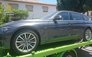 Investigado un vecino de Padul por tres vehículos robados en Italia