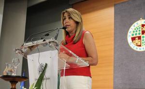 Susana Díaz habla de una UJA «joven, pero moderna e innovadora»