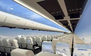 ¿Por qué los nuevos aviones están eliminando las ventanillas?
