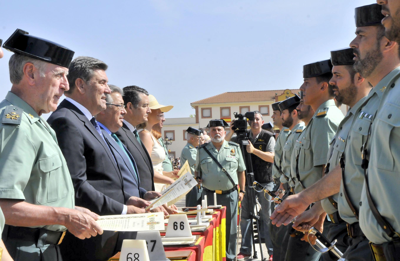 La Academia de Baeza cierra el curso con más guardias civiles en el último lustro