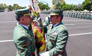 Marcos Llago toma el mando de la Brigada de La Legión 'Rey Alfonso XIII'