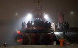 55 inmigrantes rescatados cerca de una playa de Almuñécar esta madrugada