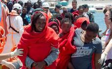 La Guardia Civil rescata este sábado a un centenar de personas