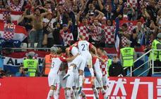 Croacia derriba a las águilas verdes y cumple en su debut
