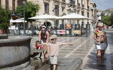 Granada registrará hoy máximas de 37 grados