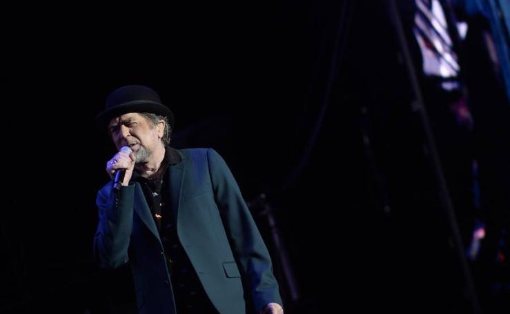 Joaquín Sabina en su concierto 'interruptus' de anoche