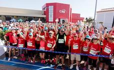 La primera edición de la CASI Tomate Popular Running supera los 1.200 participantes en Almería