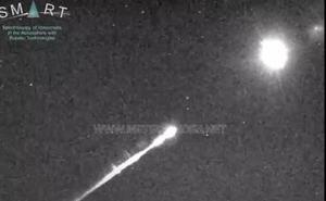 Detectan desde Granada y Almería una bola de fuego a 66.000 kilómetros por hora