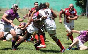 Unión Rugby Almería se toma muy en serio la promoción y toma ventaja