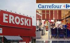 Los cambios de horario en Carrefour, Eroski y DÍA que sorprenden a sus clientes