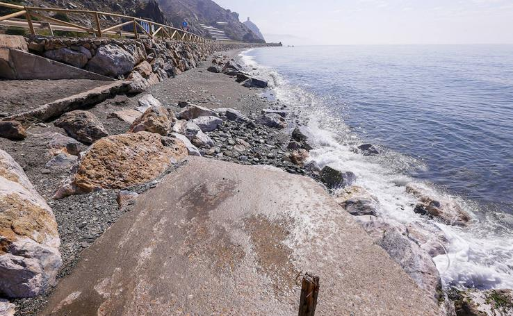 Así están las playas de Carchuna, Cotobro, Melicena, La Rábita, La Mamola, Castell de Ferro y El Pozuelo