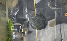 Las impactantes imágenes del brutal terremoto de Japón