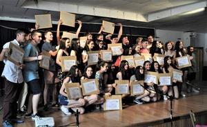 Una treintena de alumnos de 4º de ESO de Lanjarón obtiene su graduado