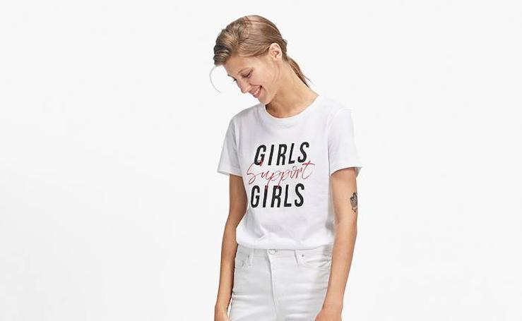 Así es la camiseta feminista de Stradivarius que ha puesto de moda Cristina Pedroche