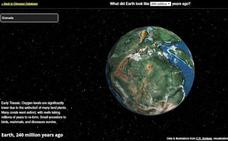 ¿Dónde estaba tu ciudad hace 700 millones de años con Pangea? Aquí puedes verlo