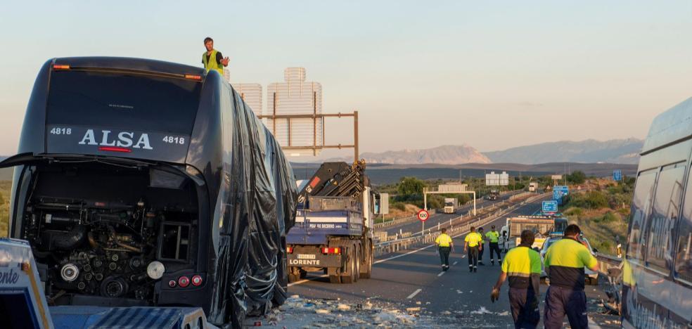 Las mujeres fallecidas en el accidente de autobús venían de visitar a sus hijos