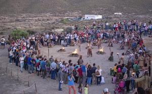 El Anochecer en Los Millares traslada a la Edad Media a medio millar de personas