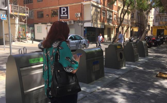 Los contenedores desaparecerán de Gómez Ulla y de la Plaza de San Pedro