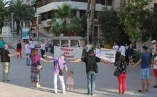 Jaén muestra su apoyo a los refugiados