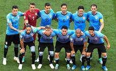 Uruguay-Arabia, en imágenes
