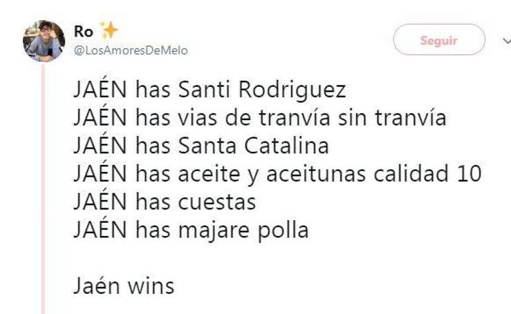 Los simpáticos hilos de Twitter que muestran lo mejor de Jaén