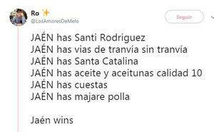 'Jaén has...': Los simpáticos hilos de Twitter que muestran lo mejor de la capital