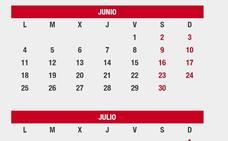 Los puentes que quedan en el calendario laboral 2018: ¿son festivos el 25 de julio y el 15 de agosto?