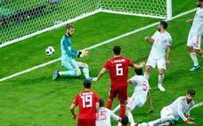 España vive dos minutos con el corazón en un puño